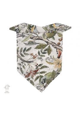 Dětský bambusový šátek s motivem světa dinosaurů