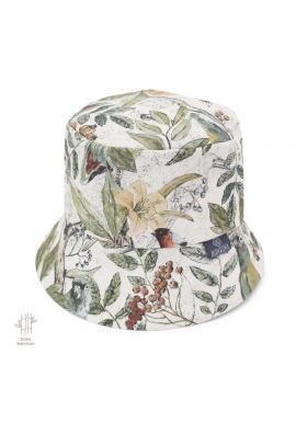 Dětský bavlněný klobouk s motivem ornitologie