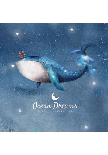 Dětská sada povlečení do postýlky s motivem Ocean Dreams