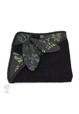 Dětský měkký ručník s bylinkovým motivem - 100% bambus