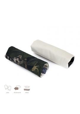 Oboustranné ochranné kryty na pásy do kočáru s motivem detektivů z džungle - samet