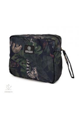Voděodolný kosmetický kufřík s motivem detektivů z džungle