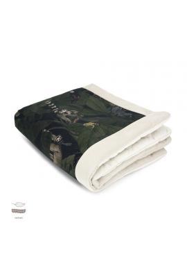 Teplá sametová deka pro děti s motivem detektivů z džungle