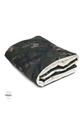 Sametová teplá deka pro děti s motivem detektivů z džungle