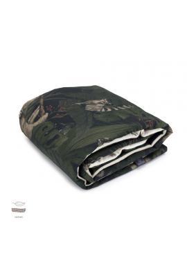 Dětská sametová tenká deka s motivem detektivů z džungle