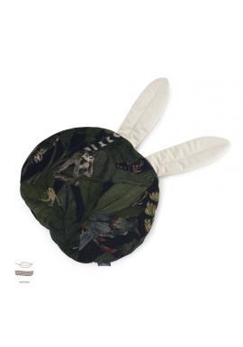 Sametový polštář s ušima s motivem detektivů z džungle