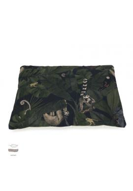 Malý sametový polštář pro děti s motivem detektivů z džungle