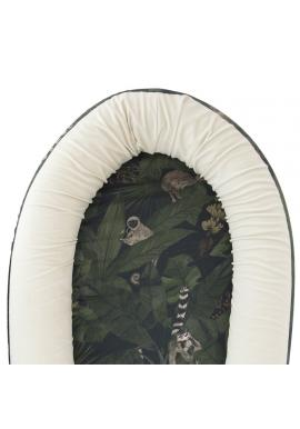 Dětské PREMIUM hnízdo pro miminka s motivem detektivů z džungle
