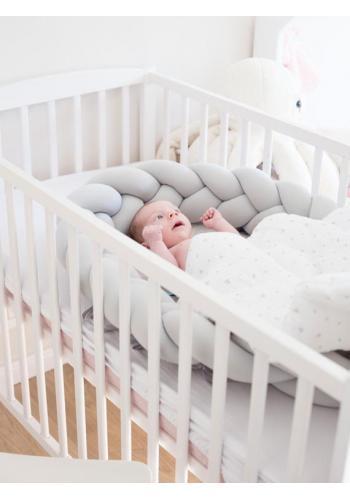 Saténová výbava pro novorozence 4v1 - Koala / šedá