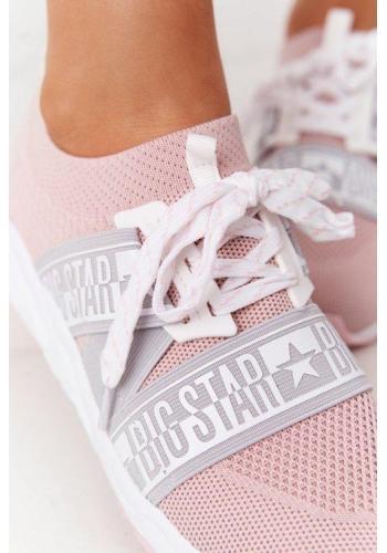 Stylové Big Star tenisky pro dámy v růžové barvě