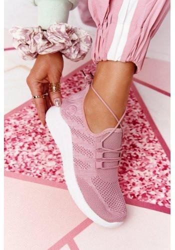 Trendy dámské tenisky v růžové barvě