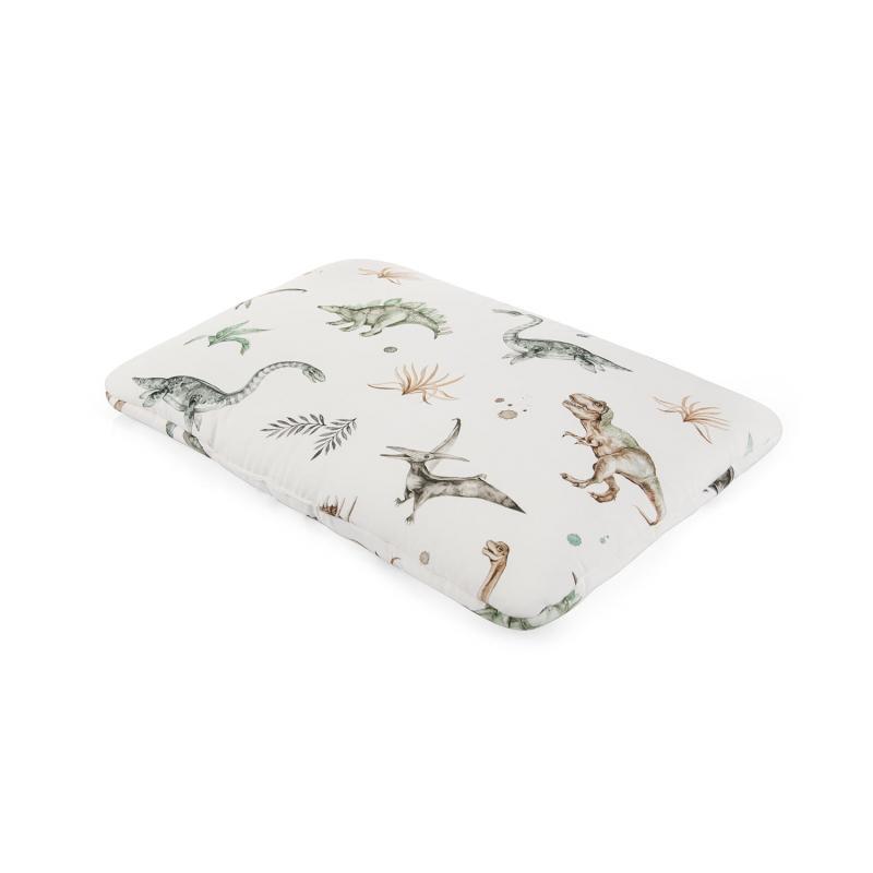 Bavlněný dětský polštář s motivem dinosaurů