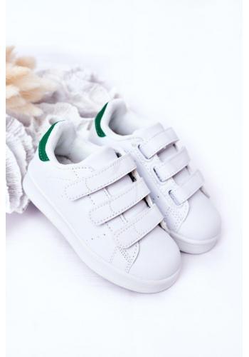 Dětské sportovní tenisky v bílé barvě