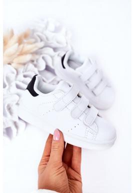 Trendy dětské sportovní tenisky v bílé barvě