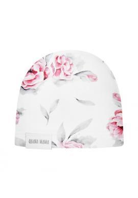 Bavlněná čepice pro dívky-IN BLOSSOM