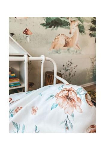 Dětská bavlněná sada na spaní s výplní - BLOOM REVIVAL
