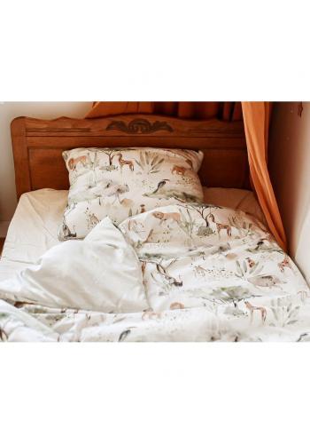 Souprava na spaní s motivem tropických vibrací