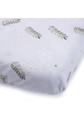 Dětské prostěradlo na postel s gumkou s motivem tropických vibrací