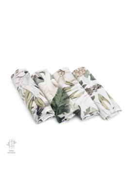 Bambusové plenky s motivem tropických vibrací