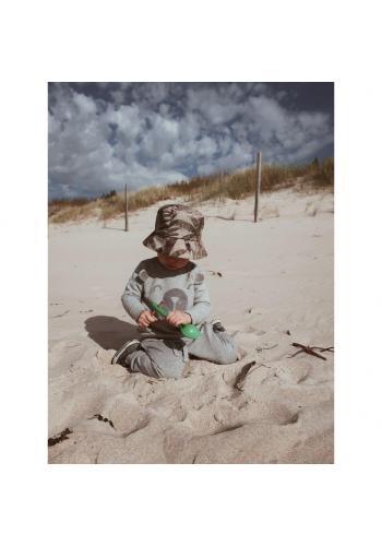 Dětský bavlněný klobouk s motivem tropických vibrací