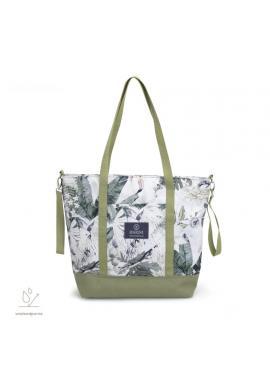 Nákupní taška s motivem tropických vibrací