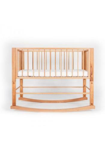 Houpací postýlka SIMPLE pro miminka - přírodní buk