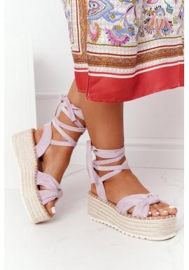 Stylové dámské sandály na platformě