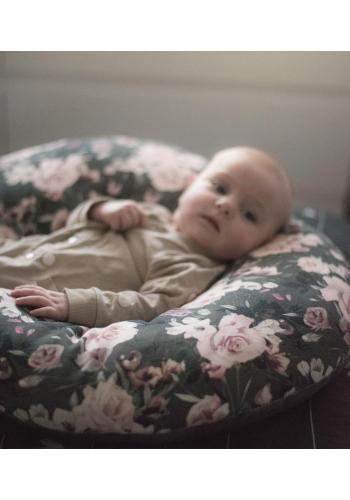 Polštář na kojení ve tvaru C s motivem víl