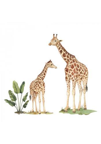 Sada nálepek v podobě žiraf