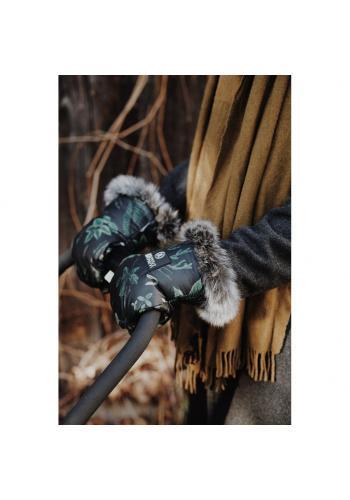 Voděodolné rukavice na kočár s motivem ornitologie
