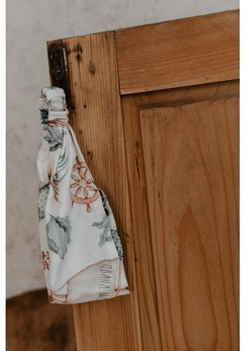 Bambusová elastická čelenka pro dívky - svět oceánu
